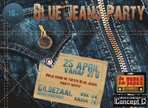 bluejeanspartyposter